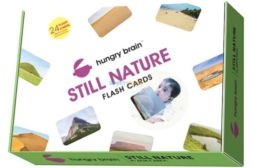 Still Nature Flashcards cover by Hungry Brain