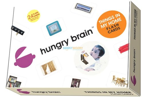 Things In My Home Flashcards by Hungry Brain cover