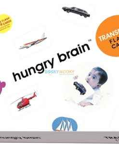 Transports Flashcards by Hungry Brain cover