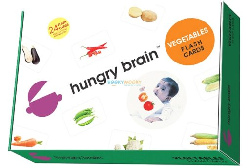 Vegetables Flashcards cover by Hungry Brains