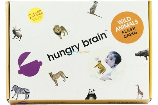 Wild Animals Flashcards cover by Bookywooky