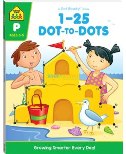 1-25 Dot to Dots Workbook - 9781488941481