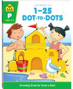 1-25 Dot to Dots Workbook - 9781488941481