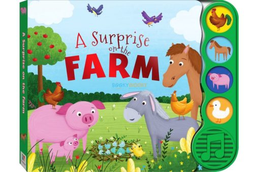 A surprise on the Farm Sound book with 4 sounds 9781488937323