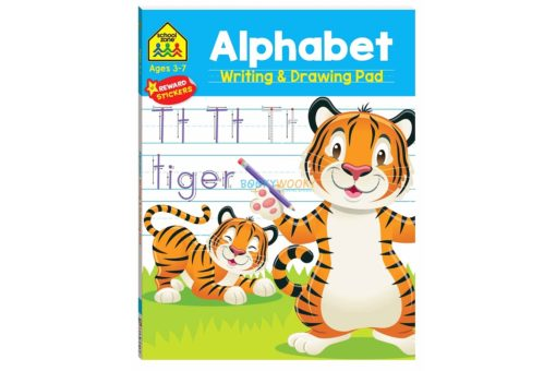 Alphabet Writing & Drawing Pad 9781488940651