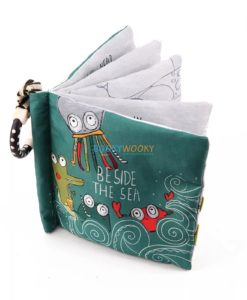 Beside the sea cloth book cover