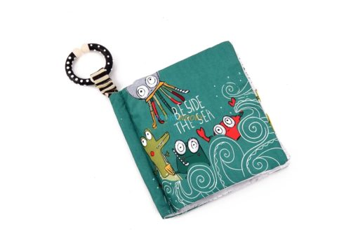 Beside the sea cloth book cover (3)