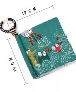 Beside the sea cloth book size