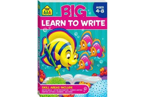 Big Learn to Write Workbook 9781488908552