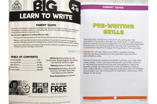 Big Learn to Write Workbook 9781488908552 inside pages (1)