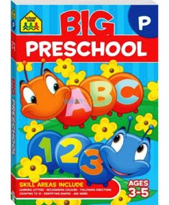 Big Preschool Workbook 9781488908743