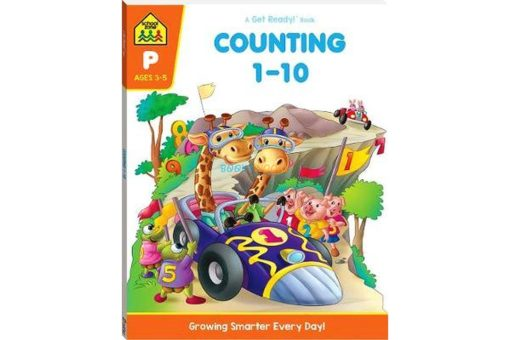 Counting 1 - 10 A Get Ready Book Workbook 9781488941474