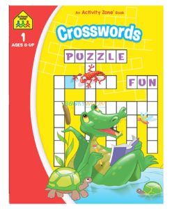 Crosswords An Activity Zone Book School Zone 9781488941788
