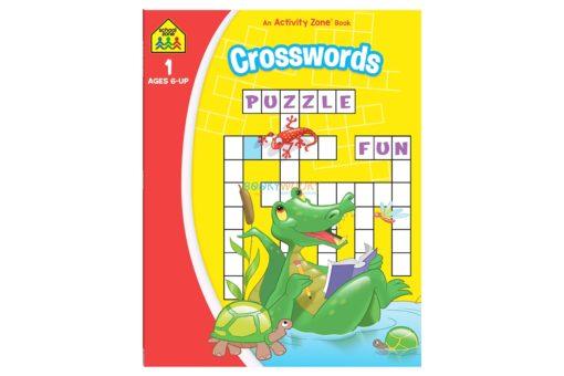 Crosswords An Activity Zone Book School Zone 9781488941788