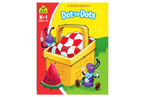 Dot to Dot An Activity Zone Book School Zone 9781488941832