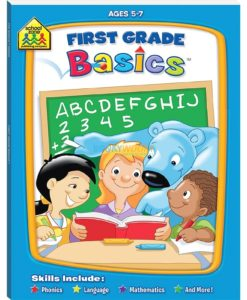 First Grade Basics Workbook Schoolzone 9781741859072