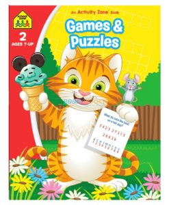 Games & Puzzles An Activity Zone Book School Zone 9781488941665