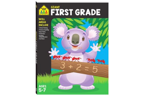 Giant First Grade Workbook 9781488940873