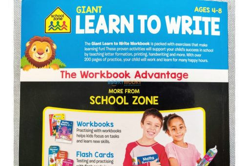 Giant Learn to Write Workbook 9781488940941 last page