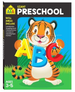 Giant Preschool Workbook 9781488940811