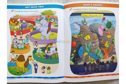 Giant Preschool Workbook 9781488940811 inside
