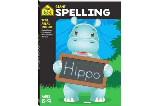 Giant Spelling Workbook Workbook 9781488940934
