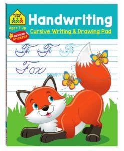 Handwriting Cursive Writing & Drawing Pad 9781488940712