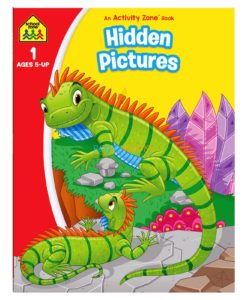 Hidden Pictures An Activity Zone Book School Zone 9781488941719