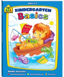 Kindergarten Basics 9781741859089 School zone workbook
