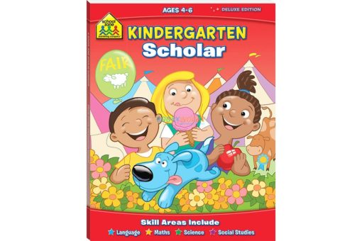 Kindergarten Scholar Workbook 9781741859126 by School Zone Deluxe Edition