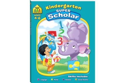Kindergarten Super Scholar Workbook 9781741859058
