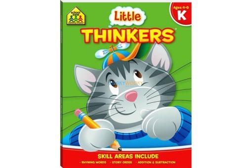 Little Thinkers Kindergarten Workbook Green Cat 9781743637852