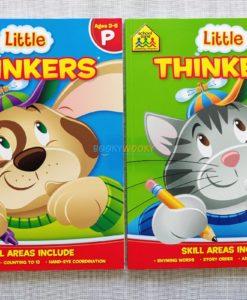 Little Thinkers Preschool Kindergarten Workbook