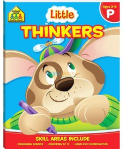 Little Thinkers Preschool Workbook Blue Dog 9781743637845