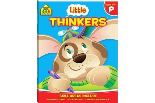 Little Thinkers Preschool Workbook Blue Dog 9781743637845