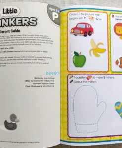 Little Thinkers Preschool Workbook Blue Dog 9781743637845 inside (1)