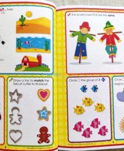Little Thinkers Preschool Workbook Blue Dog 9781743637845 inside (2)