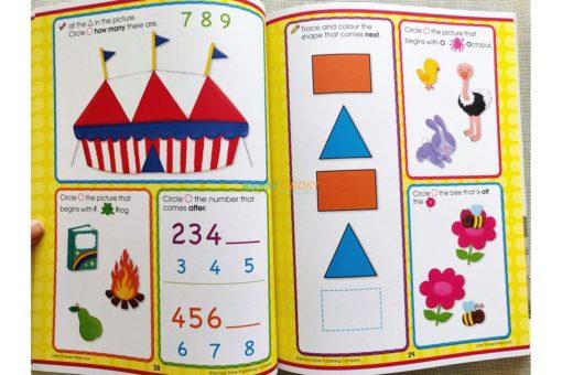 Little Thinkers Preschool Workbook inside pages