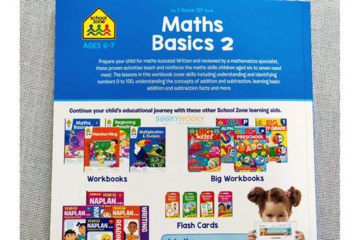 Maths Basics 2 Workbook 9781488930072 inside