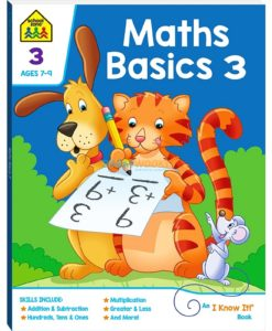 Maths Basics 3 workbook 9781488930133