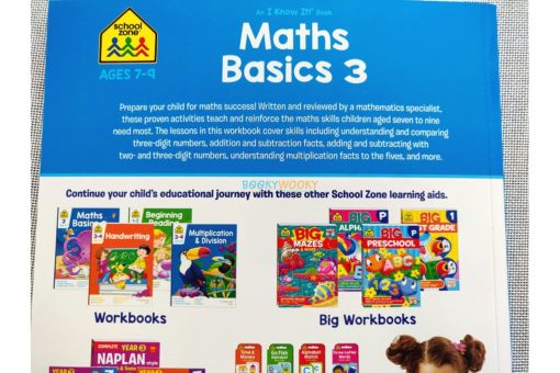 Maths Basics 3 workbook 9781488930133 inside