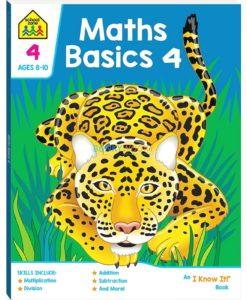 Maths Basics 4 workbook 9781488938580