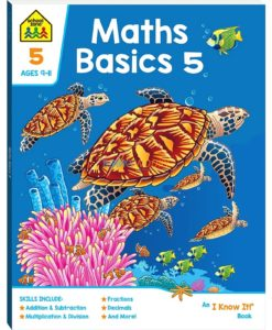 Maths Basics 5 workbook 9781488938597