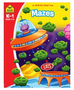 Mazes An Activity Zone Book School Zone 9781488941726