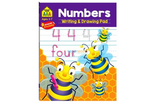 Numbers Writing & Drawing Pad 97814889406751