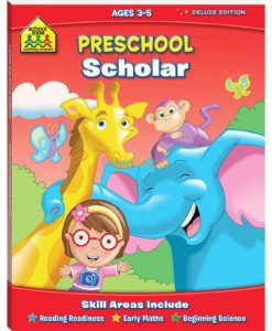 Preschool Scholar Workbook 9781741859133