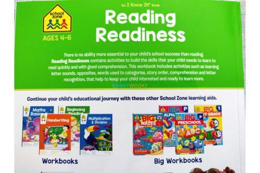 Reading Readiness workbook 9781488938764 inside