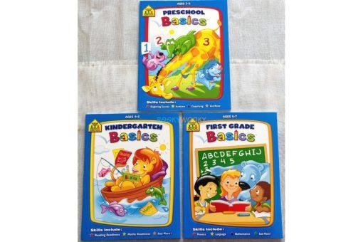 School Zone Basics Series - 3 titles