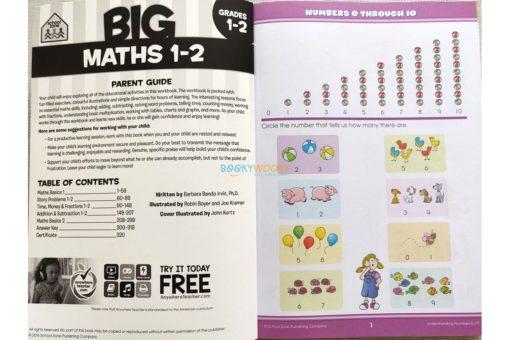 School Zone Big Maths Grades 1-2 Workbook 9781488908422 inside pages (1)