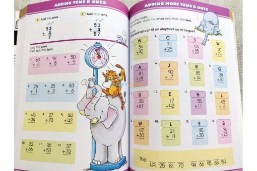 School Zone Big Maths Grades 1-2 Workbook 9781488908422 inside